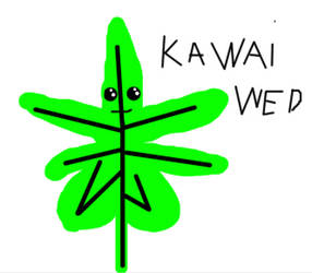 Kawaii weed by Airidassim