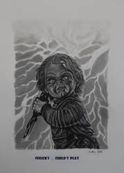 Chucky , Child's Play by doom-chris