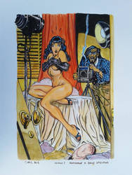 WOW! Hommage to Dave Stevens by doom-chris