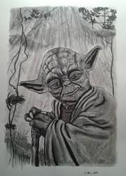 Yoda - Judge me by my size, do you ? by doom-chris