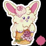 Lavender Rose - CONEBUN - [CREAMBUNS] - OPEN by celestialsunberry