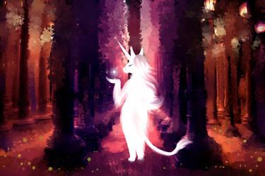 Unicorn Magic by celestialsunberry