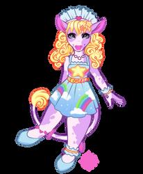 Pastel Cow Custom by celestialsunberry