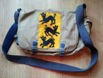 Bag with clegane sigil by CzekoladowyManiak