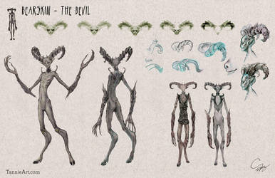 The Devil Concept Designs by TanzerDragon