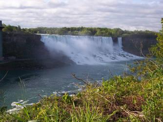 The American Niagara Falls 1 by soundwizard
