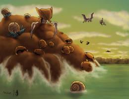 Prehistoric Kanto by PokeGirl5