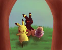 Playing around by PokeGirl5