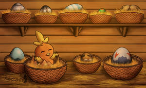Easter Hatchling by PokeGirl5