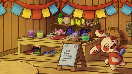 Spinda's Cafe by PokeGirl5