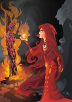 Melisandre of Asshai by dejan-delic