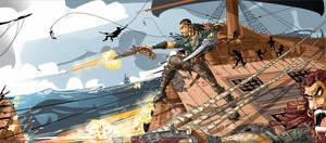 Captain Charles Vane by dejan-delic