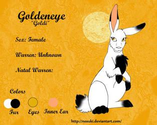 .: Ref Goldeneye :. by X-LadyShadow-X