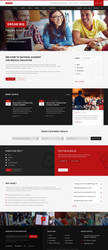 Education Institute Web Layout Design. by hussain72m