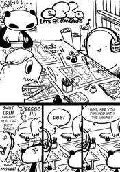 eECa let's be mangakas p 1 by EggyComics