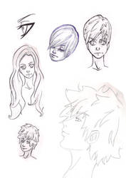 Face designs 2 by baltheea