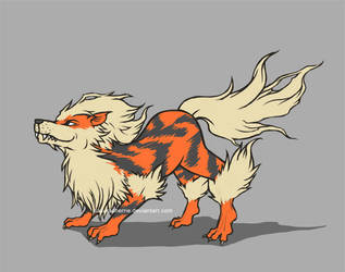 Arcanine by SakuraCherrie