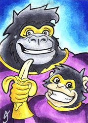 The Great Ape Gallery 10 by MatthewSmith