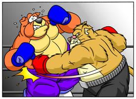 Butch vs Rex: Body Blow by MatthewSmith