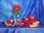 Sixteen kernels of pomegranate by costumer-95