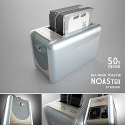 NAS Design - 50s Toaster by Bergie81