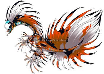 Splendid Raptor Koi adoptable by Tikall