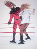 kane vs mankind by Stackii