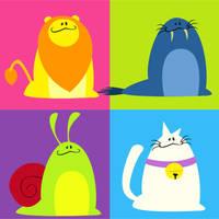 Animals 6 by NoPLo