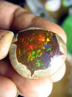 Ethiopian Opal Specimen. by jessa1155