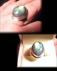 Custom Labradorite Ring by jessa1155
