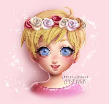 Roses by VanillaDeonna