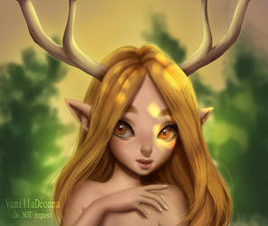 Forest nymph by VanillaDeonna
