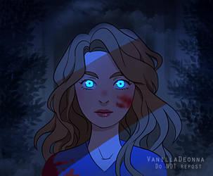 She Stalks the Night by VanillaDeonna