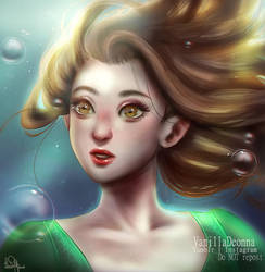 Lady in Water repaint by VanillaDeonna