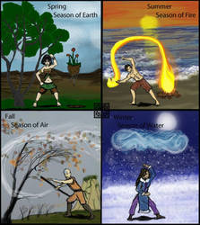 Seasons and Elements by HoneyDove