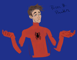 Peter B Parker (Spider-Verse) by invisibleheros