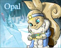 Opal the Usul by maomau