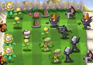 Plants vs Zombies by sapphireluna