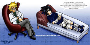 Naruto- Sasuke's consultation by sapphireluna
