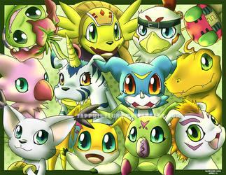 Digimon group by sapphireluna