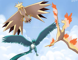 Legendary Birds by sapphireluna