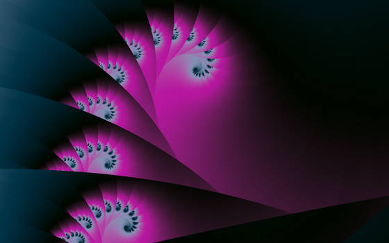 Fractured Time - Spiralled Fan Tail by FlyingMatthew