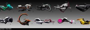 Hover Bikes by fxEVo