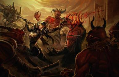 Duc Truong Huyen - DiabloIII Contest - DemonHunter by fxEVo