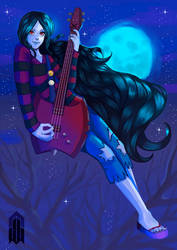 Marceline, Vampire Queen by nilluss