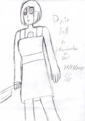 (TRAD DRAW) Pain Doll by Thunderblade2001