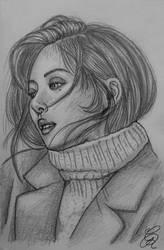 Hyuna Sketch by Gem-D