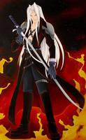 Sephiroth by starxade