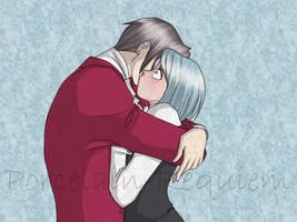 A Compassionate Hug - M and F by Porcelain-Requiem