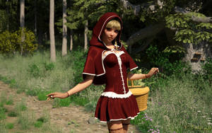 Little Red Riding Hood by TorianRaven